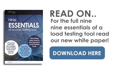 Nine Essentials of a Load Testing Tool