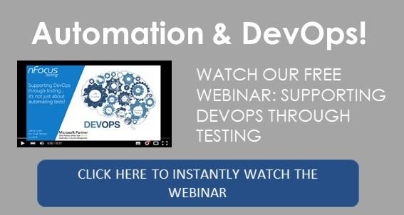 Watch our free webinar - supporting DevOps through testing.